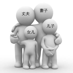 Родственные связи в китайском языке
