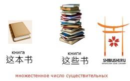 Множественное число существительных китайского языка